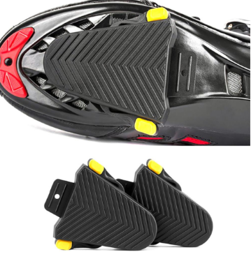 One Pair Quick Release Rubber Cleat Cover Bike Pedal Cleats Covers for Cleats Flat Pedals Mountain Bike Accessories