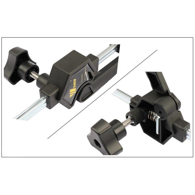 Hho-quick cliquet libération vitesse presser bois travail barre de travail pince Clip Kit épandeur Gadget outil bricolage main - 6