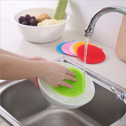 Wielofunkcyjny żel krzemionkowy podkładka do czyszczenia naczynia do naczyń gąbka do czyszczenia gospodarstwa domowego odkażanie do mycia naczyń xi wan w Ściereczki do czyszczenia od Dom i ogród na