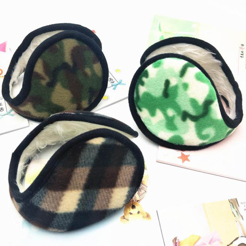 Calymel Thick Warm Earmuffs Unisex Earmuffs Warm Earmuffs Outdoor Riding Winter Earmuffs Warm Headphones