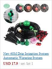 irrigação em casa, para 8 potes de flores, 50 dias