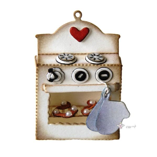 Mmao Artesanato de Metal de Aço de Corte Morre Cozinha forno de cozimento Stencil Para DIY Scrapbooking Papel/foto Cartões Embossing Morre