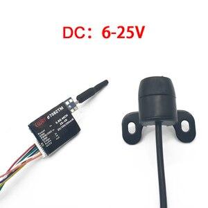 Image 3 - 5.8G 48CH VR005 2.7 inç 960*240 FPV gözlük ile 25/100/200mW verici başlatıcısı + Fpv Mini kelebek kamera FPV Drone için