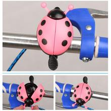 Bicycle Bell Beetle Cartoon Cycling Bell Lovely Kids Funny Ladybug Bell Ring for Bike Ride Horn Bicycle Accessories недорого