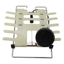 Voltar levantamento ajustável apoio lombar do carro rotatead mão manual operado relaxamento para cintura encosto de cabeça volta assento giratória interior