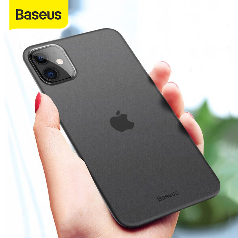 Baseus 0.4mm Super Thin Phone Case For iPhone 11 Case Coque 11 Pro Back Cover PP Coque Fundas for iPhone 11 Pro MAX Case Capa XS      - AliExpress