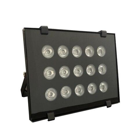 ac 220v pcs matrizes de 15 ip66 illuminatoring cctv cheia do diodo emissor de luz