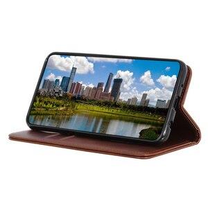 Image 5 - מקרה טלפון עבור Samsung Galaxy A51 A71 מקרה כיסוי עור פרה עור מגנטי עמיד הלם כרטיס חריץ Flip ספר מקרה עבור סמסונג a51