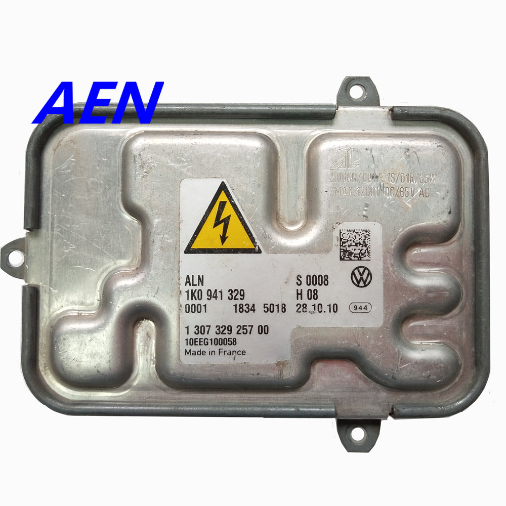 Original used 1K0941329 130732925700 Xenon BALLAST HID CONTROL 1 307 329 257 00 For Mercedes C