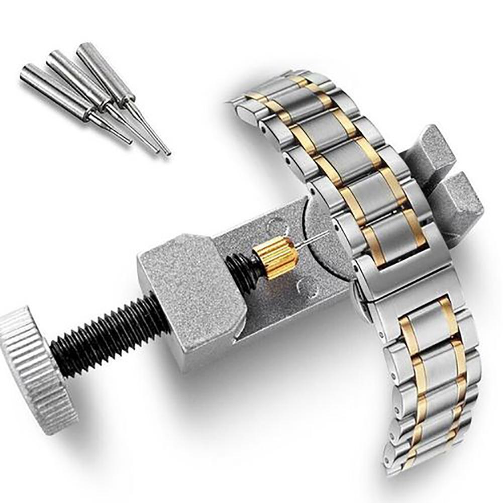 Портативный металлический ремешок для часов, набор инструментов для ремонта браслета с 3 дополнительными контактами|Ремонтные инструменты и комплекты|   | АлиЭкспресс