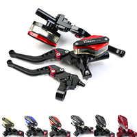 Moto 22mm Hebel Kabel Kupplung Barsch Master Zylinder Bremse für MSX125 KX250F Freno CR125 Honda Yamaha R6 2016 SV650 repsol ZX14
