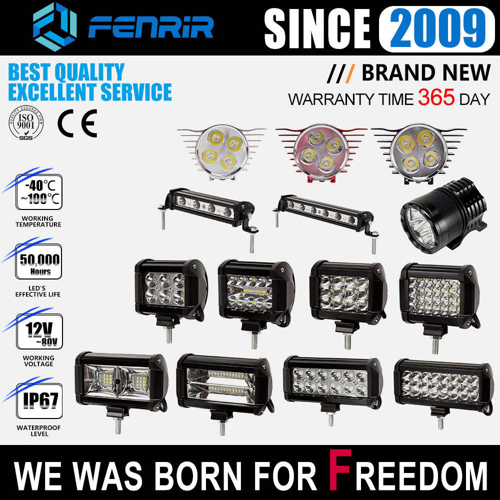 Led Lights For Auto Accessory 6d Led Fog Lights For 4x4 Truck LED Beam For Cars Diode Headlights Automotive Spotlight Work Light