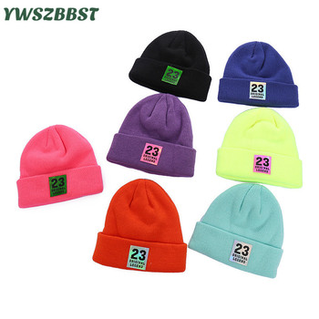 New Autumn Winter High Quality Knitted Baby Girls Hat Boys Beanies Crochet Children Hat Candy Colors Warm Baby Cap boys sweaters high quality baby trui baby girls sweater autumn winter baby warm clothes kids sweater