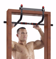 2020 New Horizontal Bars Door Pull Up Bars Strength Fitness Bar Chin Up Workout Exercise Sports Use Solid Frame Home Gym Workout