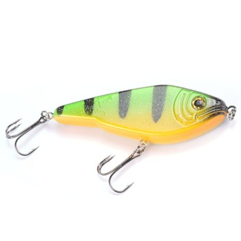 MIZUGIWA Pike Fishing Lure Jerkbait Musky Buster Jerk Big VIB Baits Mustad Hooks Slow Sinking Bass 120mm 50g Pesca Leurre