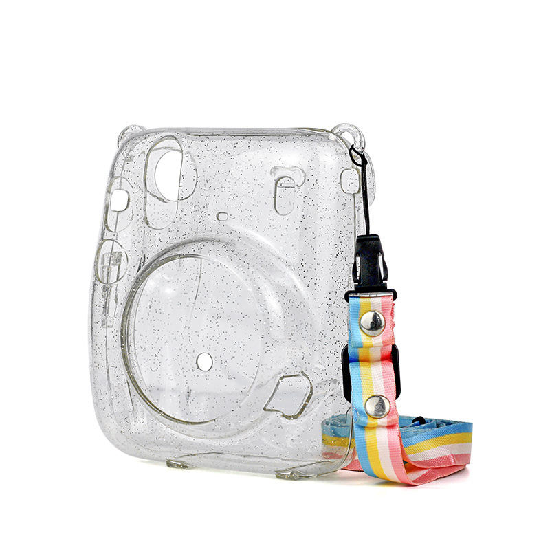 Bag Cover Protective-Case 11-Accessories Crystal Instant-Camera Fujifilm Transparent