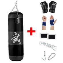 Professional Boxing Punching Bag Sandbag Training Thai Sand Fight Karate Fitness Gym Empty-Heavy Kick Boxing Bag with Hanging