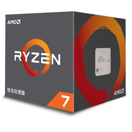 AMD Ryzen 7 2700X R7 2700X 3.7 GHz Eight-Core Sinteen-Thread 16M 105W CPU Processor Socket AM4 Boxed With Cooler Fan NEW