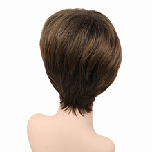 short female haircut Synthetic hair wigs