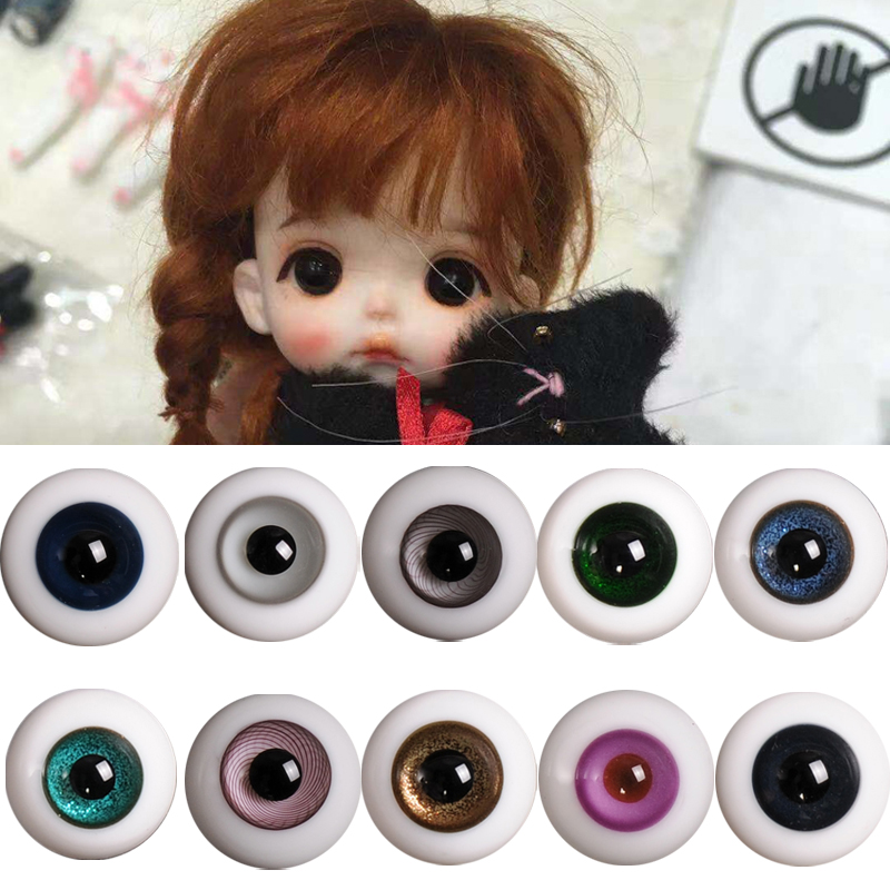 Good-Quality 20MM Glass Dark Brown BJD Eyes for Reborn BJD Doll