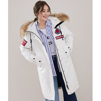 Woman Jacket Down Hooded Korean Coats Winter Coat Women Raccoon Fur Collar Sport Parka Canada Parkas Mujer 2020 MY1531 s