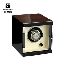 Automatic Watch Winder Box Case Holder Mechanical Watch Display Organizer EU US AU UK Plug Luxury Motor Shaker PU tanie tanio Melancy Watch Boxes Fashion Casual New with tags 3201 Square 18 5inch 18inch Wood 16inch Mixed Materials black 1 year
