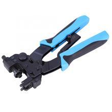 Клещи для обжима клемм F BNC RCA, Обжимные Щипцы для соединения коаксиального кабеля, регулируемый диапазон сжатия