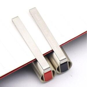 Image 3 - اليابان يوني UB 177 الكرة القلم مستقيم السائل القلم الأعمال الرياح مكتب قلم توقيع مستقيم السائل تصميم الأعمال نمط 0.7 مللي متر