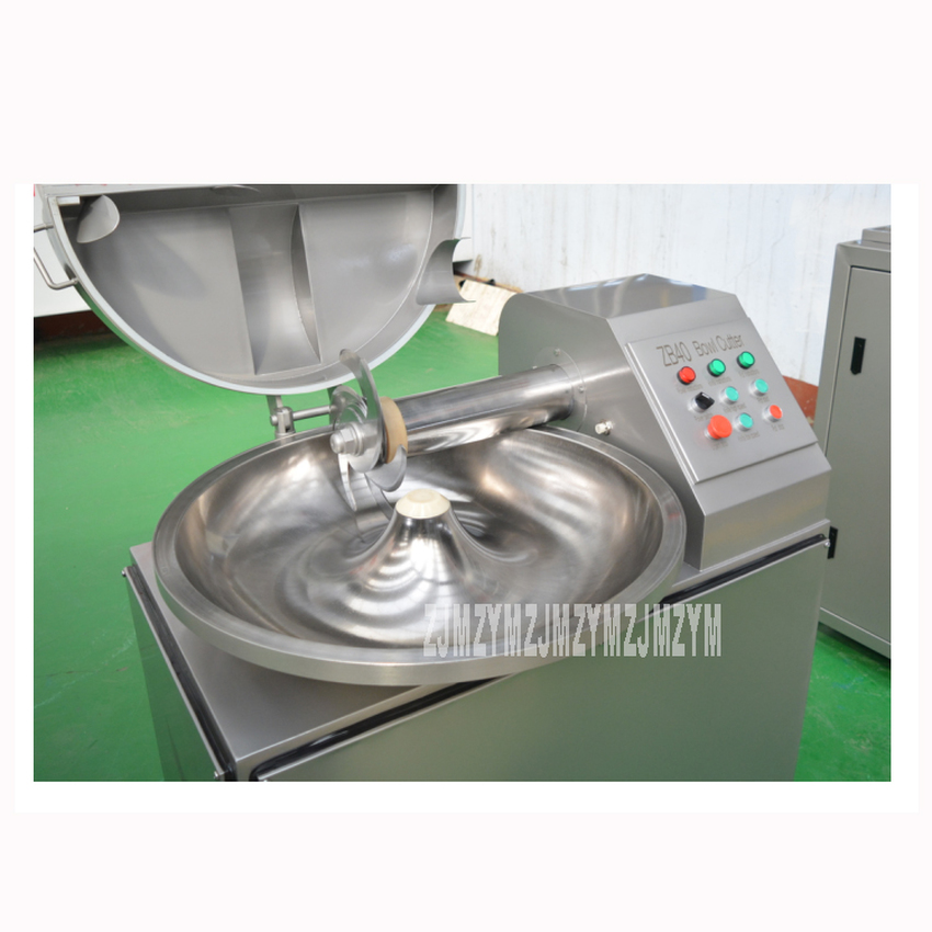 ZB-40 40L Electric Meat Beef Mincing Grinding Machine Frequency Conversion Commercial Automatic Meat Grinder Mixer 5.1kw 380V 8