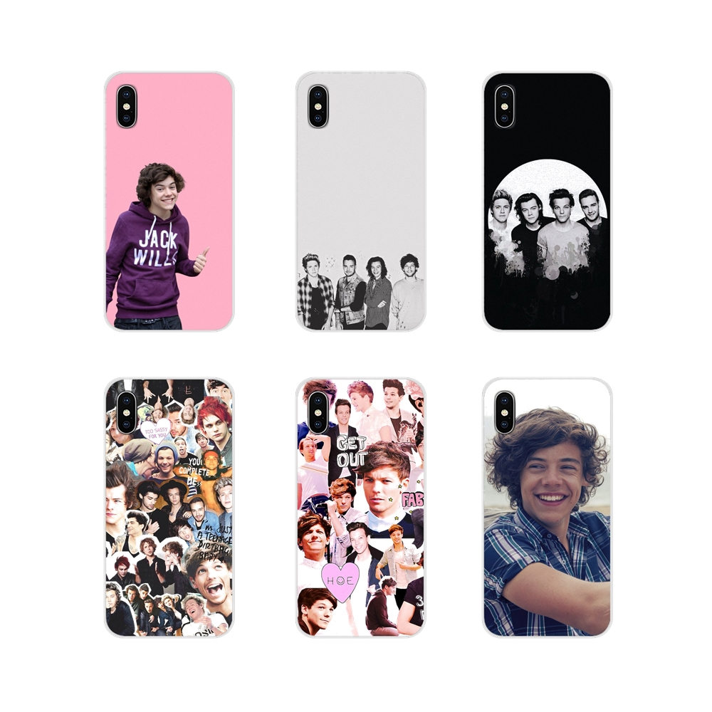 One Direction <font><b>Harry</b></font> <font><b>Styles</b></font> Mobile <font><b>Phone</b></font> Shell <font><b>Cases</b></font> For <font><b>Samsung</b></font> Galaxy S3 S4 <font><b>S5</b></font> Mini S6 S7 Edge S8 S9 S10 Lite Plus Note 4 5 8 9 image