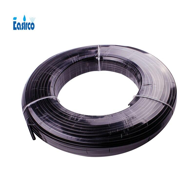 """(100 m/paquete) Easirco 3/8 """"tubo de nebulización de PE negro para el sistema de enfriamiento de niebla-in Aspersores de jardín from Hogar y Mascotas    1"""