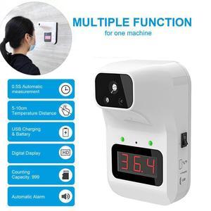 Mesure de température fixe infrarouge sans Contact K3 compteur de température numérique le mur suspendu le pistolet de température frontal