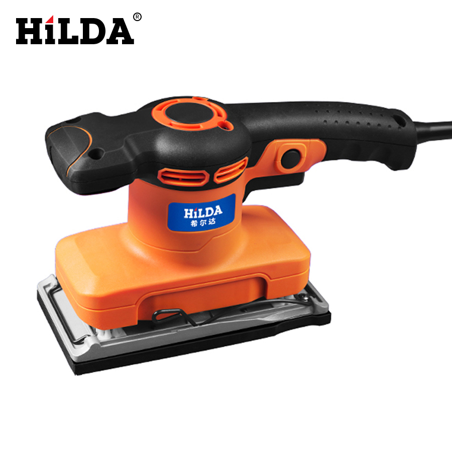 Hilda Wall Grinding Machine Flat Sander Small Electric Tools For Woodworking Polishing With Sandpaper
