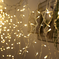 YINUO CANCLE 3*3m Led String Light 300 LED Christmas Garland LED Curtain Icicle String Light Indoor Outdoor Decorative Light