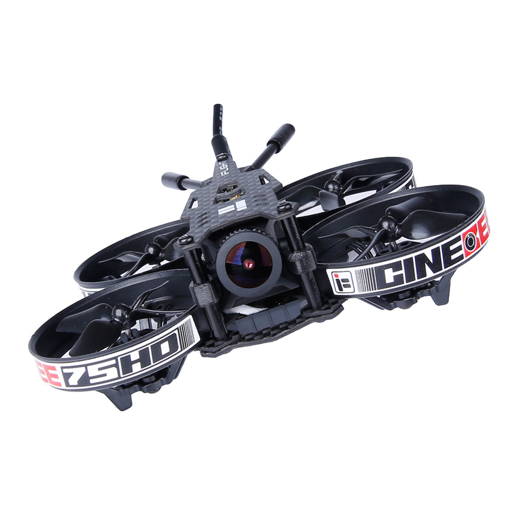 2019 новогодние подарки игрушки для детей мальчик игрушка iFlight CineBee 75HD Крытый FPV гоночный Дрон мини Квадрокоптер 75 мм Whoop игрушка - 5