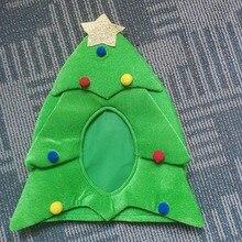 Рождественская елка шляпа, забавная Рождественская шляпа, Новинка Шляпа Санты Праздничная тема шляпа