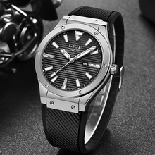 Relogio Masculino 2020 LIGE New Mens Watches Top Brand Luxury Military Sports Wr