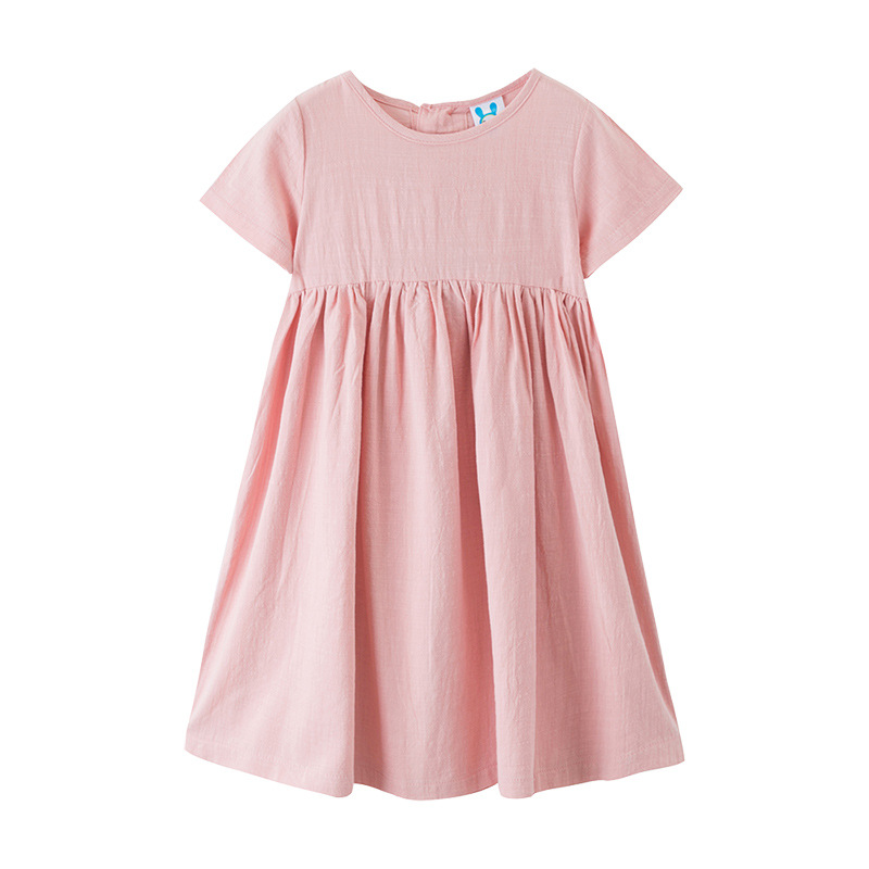 New 2020 Summer Toddler Girls Dress Baby Princess Dress Children Casual Dresses Bow Kids Leisure Dresses For Girl Cotton, #8415