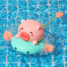 1 шт игрушка для ванны милые Мультяшные животные Классическая