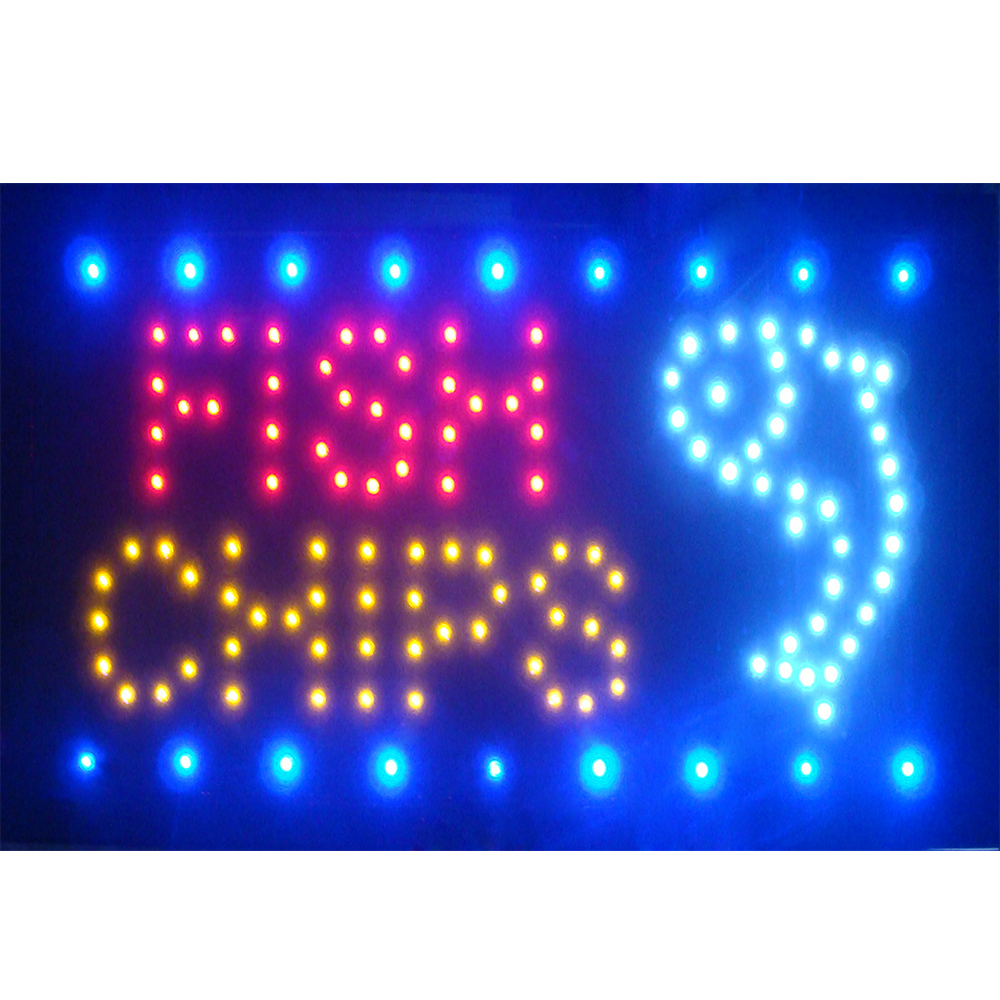 s127-b Pizza OPEN Shop Cafe Store Neon Light Sign