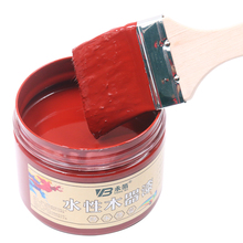 250g Iron Red Acrylic Paint,Water-Proof&Mildew-Proof Water-Based Woodwork Paint Craft Paints for Home Furniture
