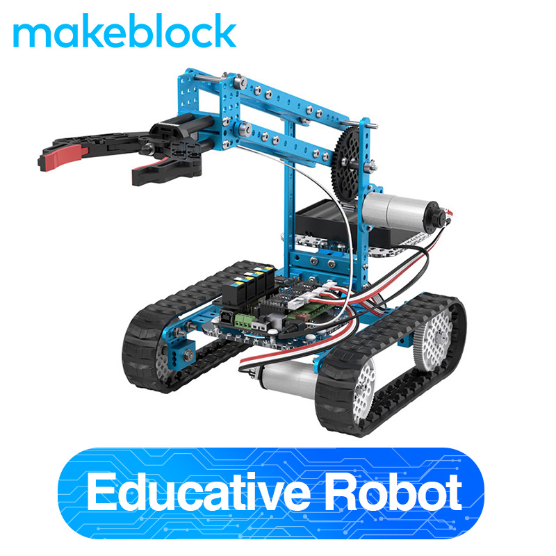 Makeblock DIY Ultimate Robot Kit - Premium Quality - 10-in-1 Robot - STEM Education - Arduino - Scratch 2.0 for Kids, Age 14+(China)