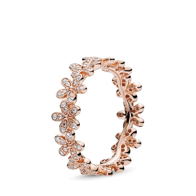 Authentique 925 en argent Sterling princesse diadème couronne étincelant amour coeur, CZ anneaux pour les femmes fiançailles bijoux anniversaire 2