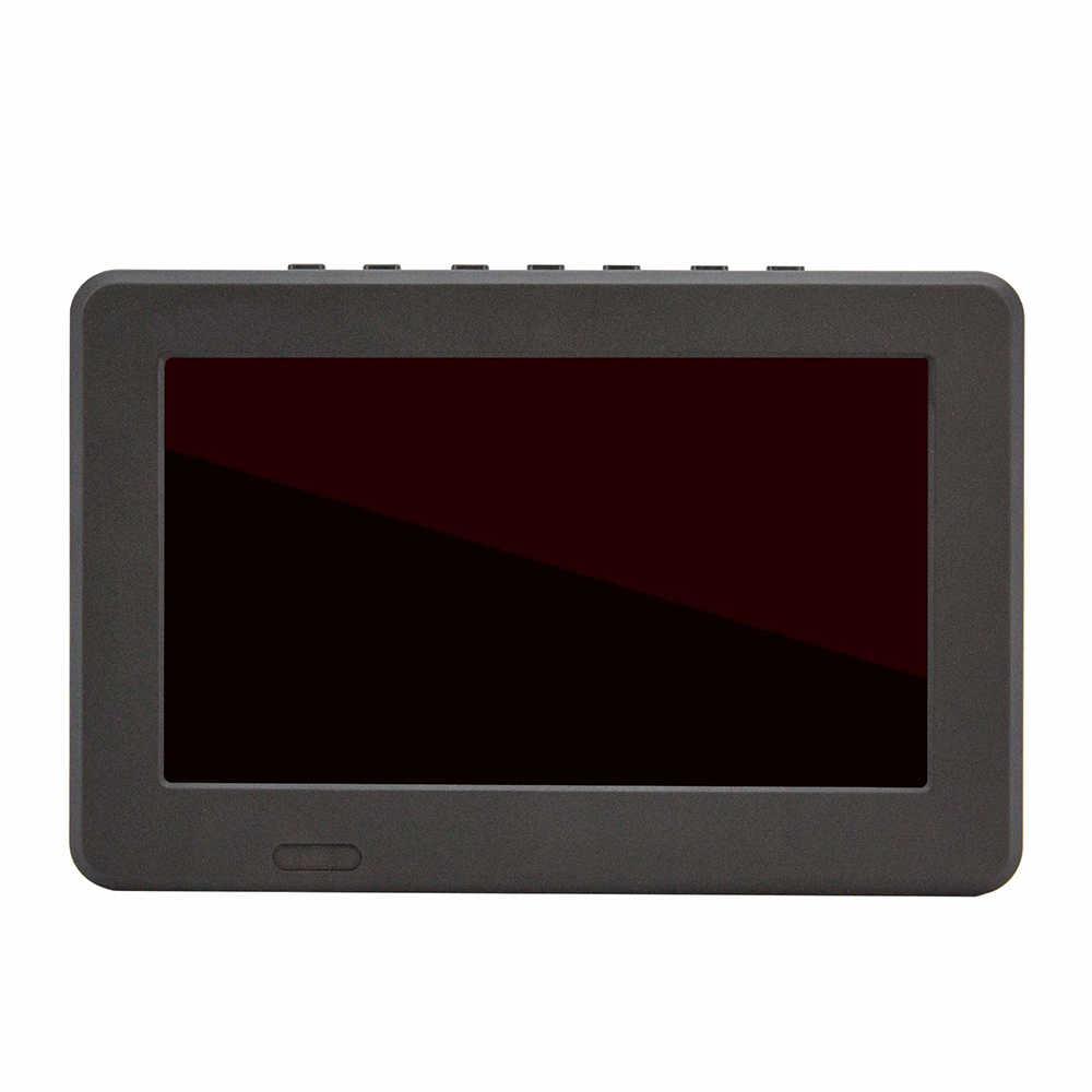 Samochód 7 Cal telewizji ATSC 16:9 HD cyfrowy analogowy przenośny telewizor kolorowy odtwarzacz telewizyjny dla domu samochodu telewizor 2019 styl