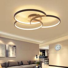Lofahs новые современные светодиодные потолочные лампы для гостиной