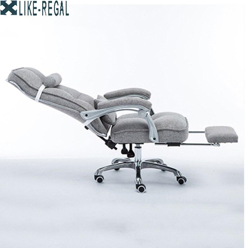 Профессиональный компьютерный офисный стул с алюминевыми ножками