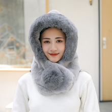 Winter Thick Bomber Caps Warm Faux Fur Women Fashion Bomber Hats Outdoor Russian Snow Hat Caps Ski Hat