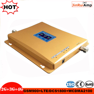 Image 3 - Tri Band Amplificatore di ripetitore GSM ripetitore 900 1800 2100 GSM DCS WCDMA 2G 3G 4G LTE Ripetitore Del Segnale cellulare kit Ripetitore di segnale