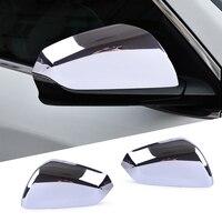Beler decoração do carro abs chrome retrovisor espelho lateral capa guarnição moldura de vidro apto para chevrolet equinox 2018