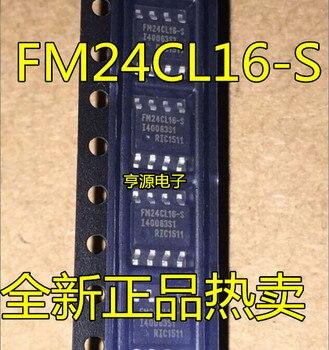 10 unids/lote FM24CL16-G SOP FM24CL16 SOP-8 24CL16 SOP 16Kb FRAM Se rial 3V en Stock